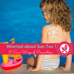 How to prevent Sun Tan in Kids
