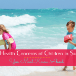 tips to prevent common summer health problems in children