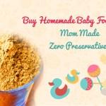 Buy Homemade Baby Food Online India