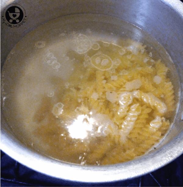 creamy vegetable pasta