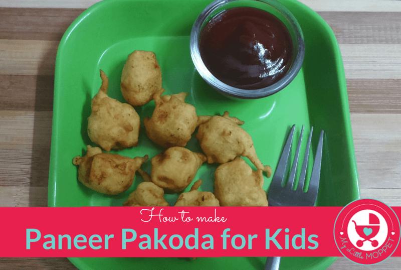 How To Make Paneer Pakoda For Kids