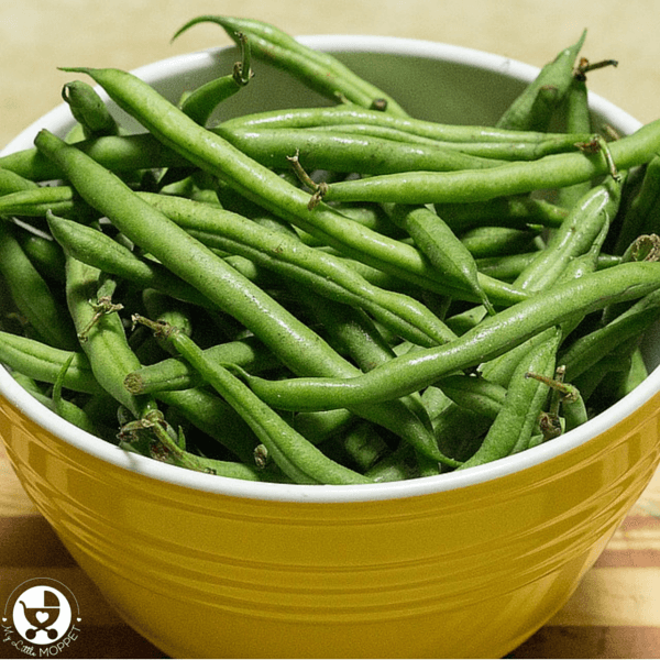 french beans puree