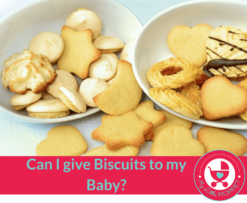 can i give biscuits to my baby