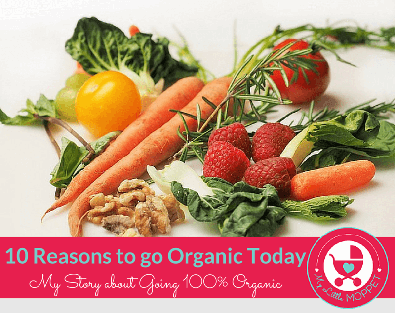 reasons to go organic
