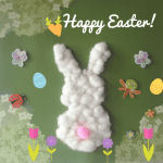 Easy Easter Bunny Craft for Toddlers