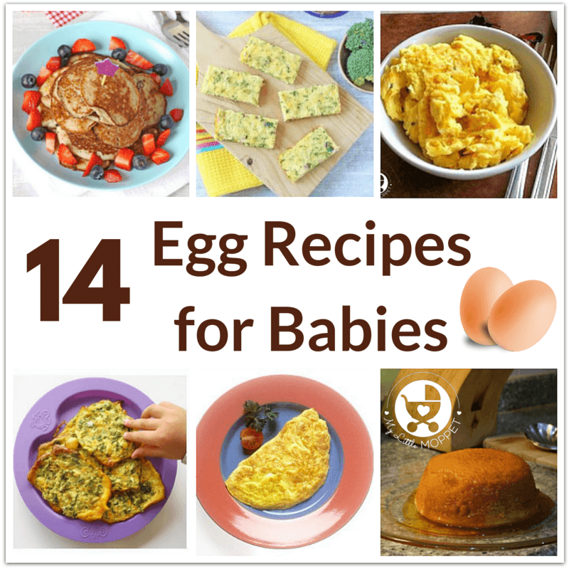 egg recipes for babies