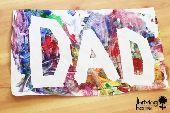 Last Minute Fathers Day Crafts
