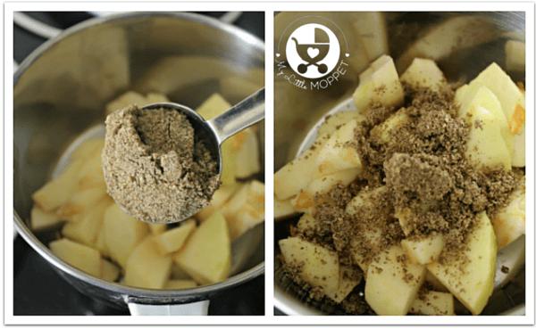 apple protein milkshake