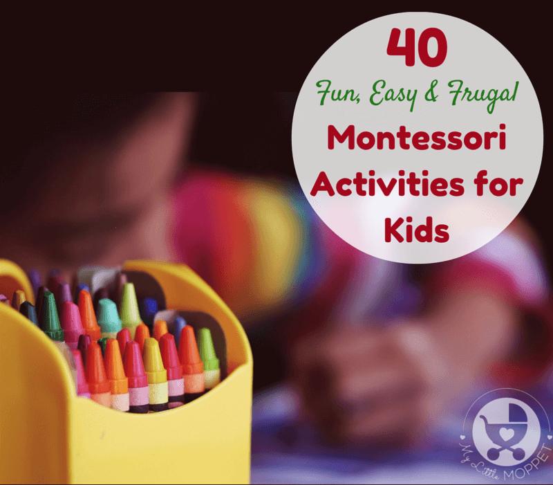 budget-friendly Montessori Activities for Kids