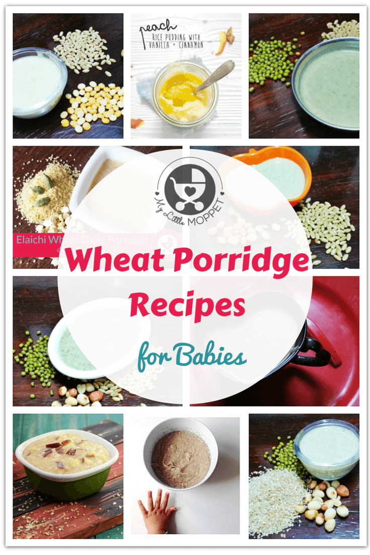 70 Healthy Baby Porridge Recipes My Little Moppet