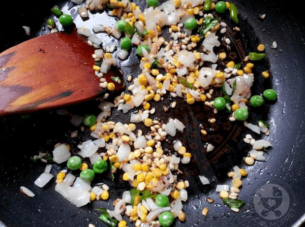 maize flakes upma