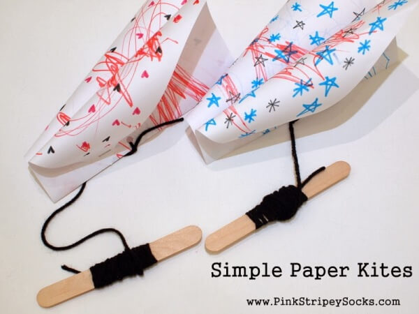 10 Easy Kite Crafts For Kids To Make