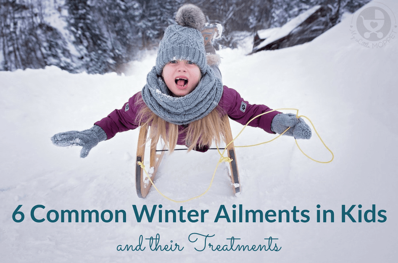 The winter brings with it illnesses due to the cold & lowered immunity. Here are 6 common winter ailments in kids and their treatments.