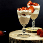 This Valentine's Day, give your body some love with a no-bake, healthy dessert made with homemade yogurt, honey and fresh fruit - Chocolate Sweetheart Yogurt Parfaits!