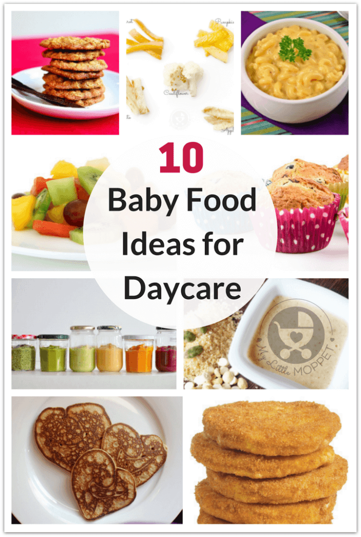 Here Are 10 Healthy Baby Food Ideas For Daycare