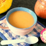 Pumpkin and Red Lentil Soup for Toddlers