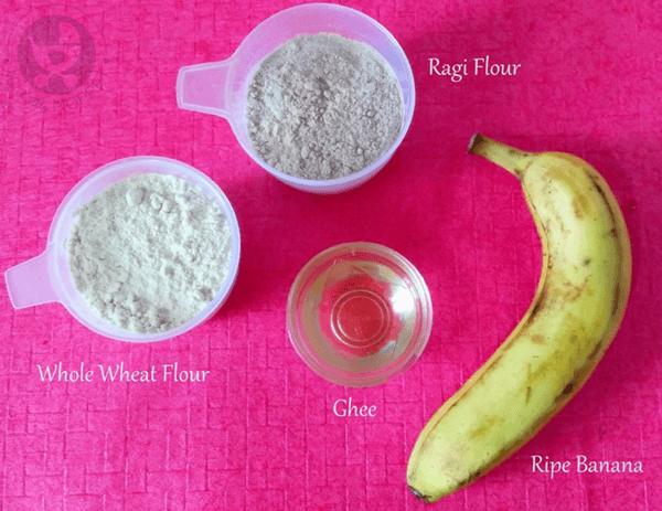 Ragi Banana Pancake