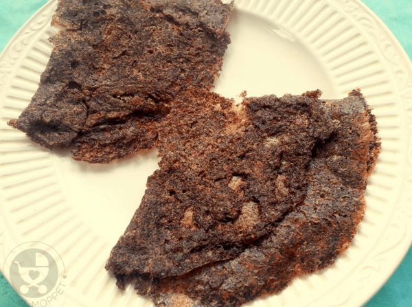 This Ragi Flakes Dosa recipe does not require extended soaking or fermentation, and is the perfect option for busy school mornings or a quick after school snack!
