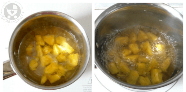 Pineapple Kesari for Babies
