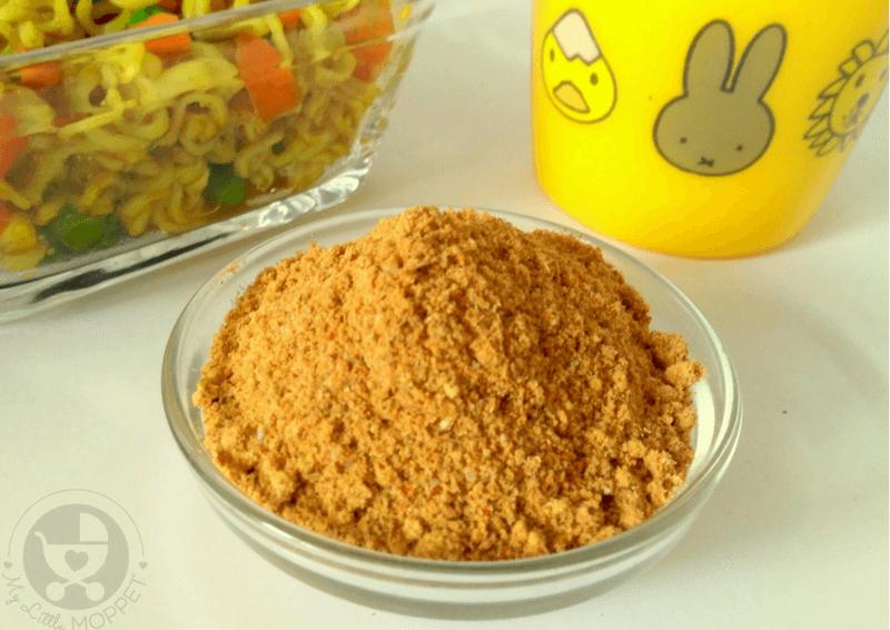 Skip the MSG laden taste makers of commercial instant noodles by making your own DIY Maggi Taste Maker at home!