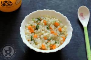 Here's a popular Navratri recipe that's been modified to suit even the little ones - Sabudana Khichdi Recipe for babies!