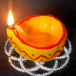 Eco Friendly DIY Diya for Diwali