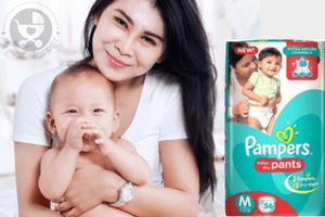 Happy Babies love Pampers