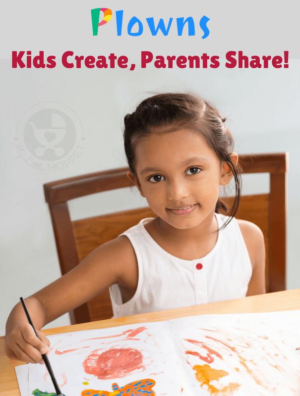 Plowns App - Kids create, Parents share