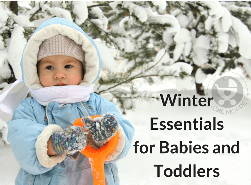 No matter how cold it is, your little one can still enjoy the season! Just stay prepared with these winter essentials for babies and toddlers!