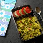 Coriander Vegetable Rice for Kids