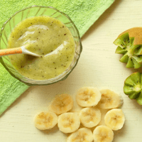 Kiwi Banana Puree for Babies