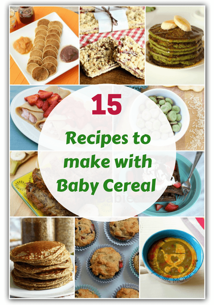 15 healthy recipes to make with baby cereal got leftover baby cereal or want to make your kids food healthier then you ccuart Choice Image
