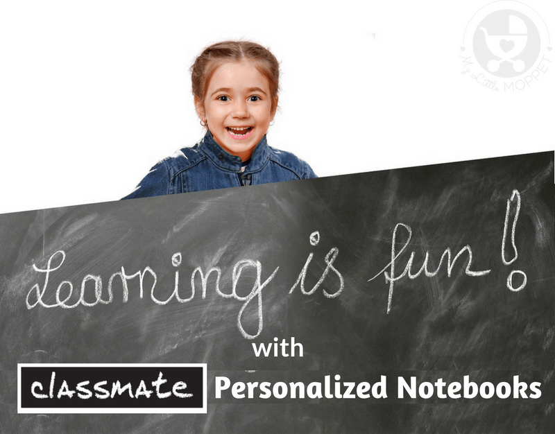 In today's world of copy cats, it's important to encourage kids to maintain their individuality. A great way to do this is by letting them express themselves through Classmate Customized Notebooks!