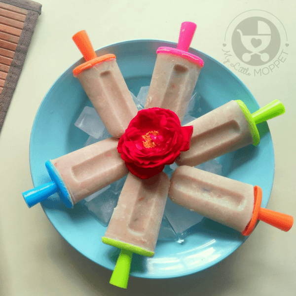 Kids aren't keen on eating when it's hot, but there's one thing they'll never say no to - ice cream! So here's the solution - nutri mix Popsicles!!