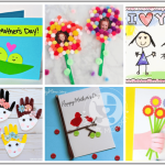 No Mom can resist a gift made by their little ones with their own hands! Give them a helping hand with this list of cute Mother's Day crafts for kids to make!