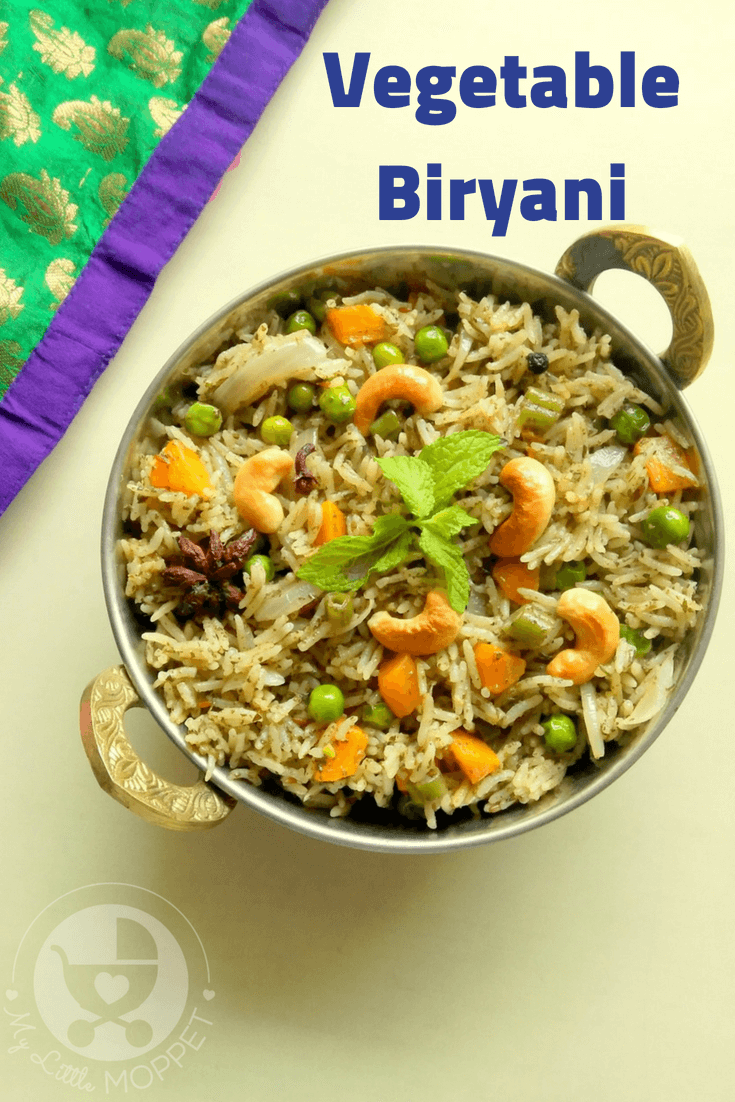 Let the kids enjoy a festive feast that's filling, nutritious and simply delicious! Check out our kid-friendly   vegetable biryani recipe for Eid.