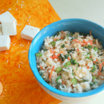 Fried rice is a popular kiddie dish, and this healthy and tasty Paneer Vegetable Fried Rice is going to make your little ones very happy too!