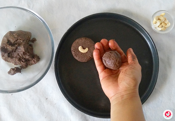 Chocolate Multigrain Cookies