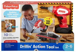 fisher price drill toy