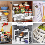 Is your kitchen overcrowded and spilling over with pots, pans and all sorts of cooking gadgets? Control the mess with these kitchen organization must haves!