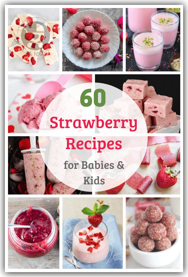 With strawberries in season, it's the perfect time to make the most of this nutritious fruit with some Healthy Strawberry Recipes for Babies and Kids.