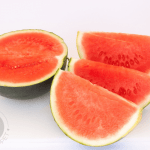 """With so many health benefits that are particularly good for summer, it's natural to wonder, """"Can I give my Baby Watermelon?"""" Find out if you can and what else you need to know about this fruit."""