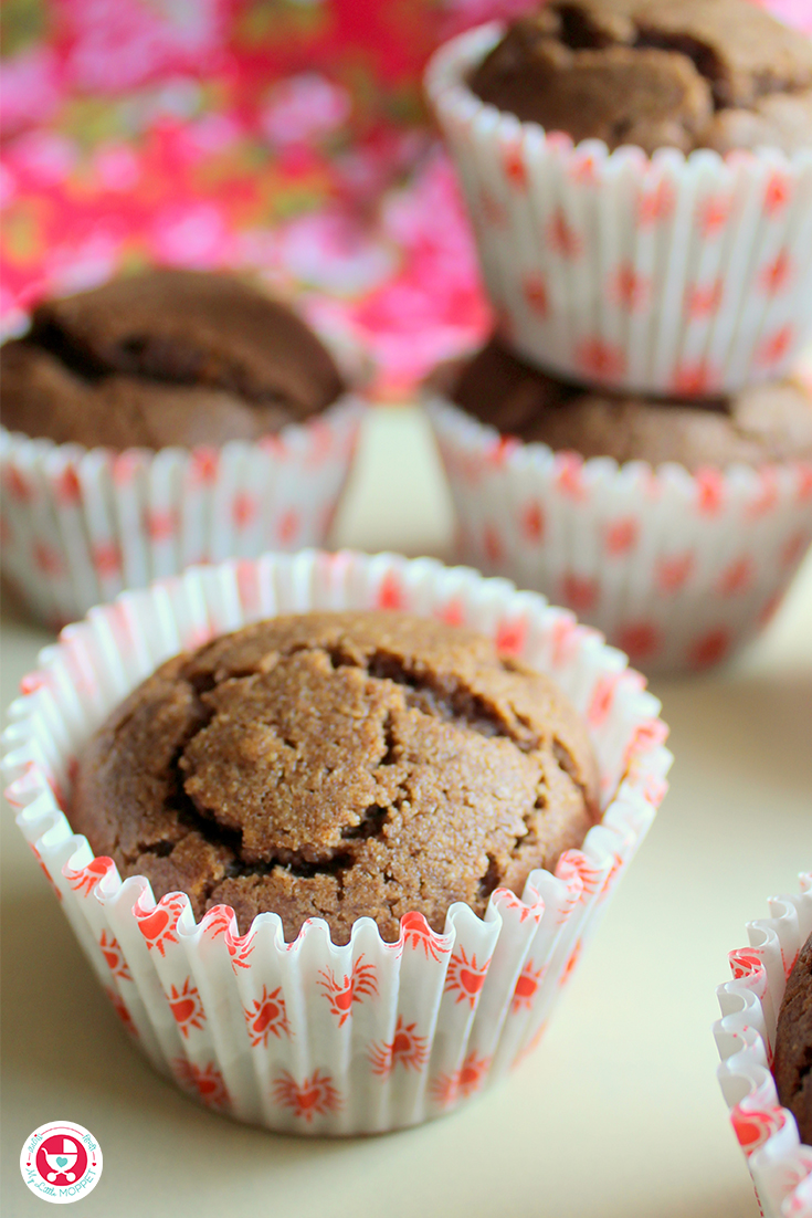 Let kids enjoy a healthy and yummy breakfast with these super nutritious Sprouted Ragi Chocolate Muffins, sweetened with jaggery instead of sugar!