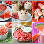 Let your little ones enjoy the goodness of watermelons with these healthy Watermelon Recipes for Babies and Kids! Make everything from chaat to cheesecake!