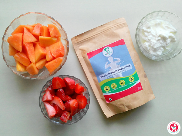 How to make Immunobooster Smoothie?