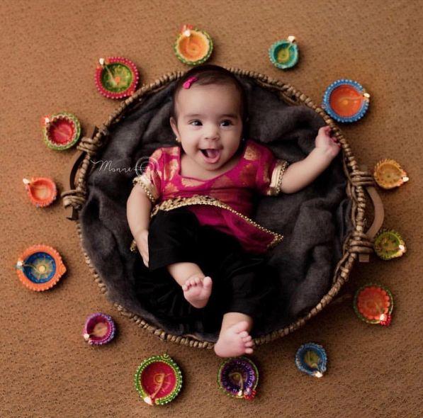 50 Cute And Creative Baby Photo Shoot Ideas