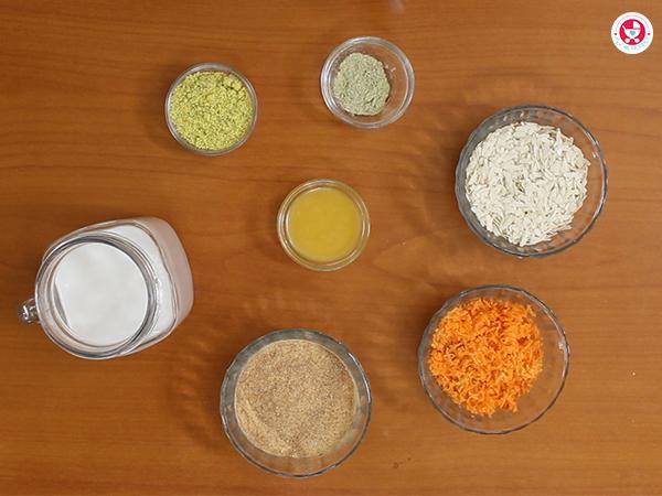How to make Carrot Poha Kheer for babies?