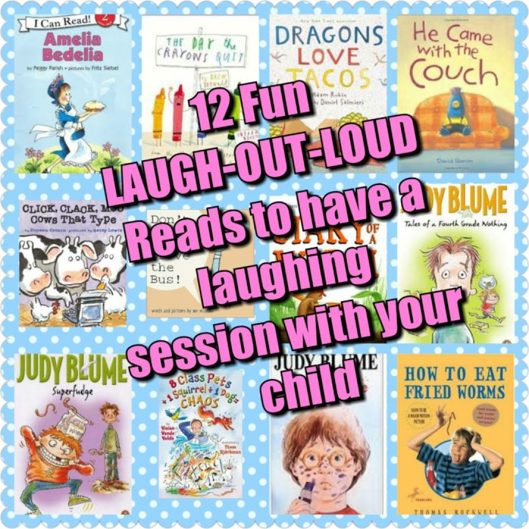 Laugh out laugh books