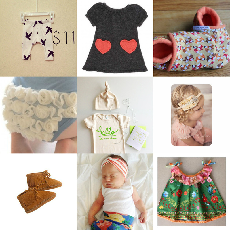 A few things for the new baby…