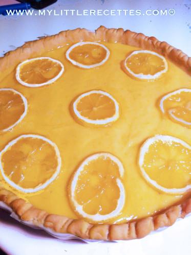 Tarte citron meringuée, recette 1